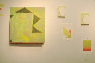 Paintings and monotypes by Krisna Schumann