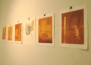 Monotypes by Krisna Schumann